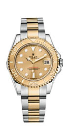 Rolex Yacht Master - steel and yellow gold