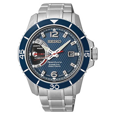Seiko Kinetic Direct Drive watch