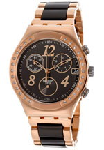 swatch watches - women's irony chronograph