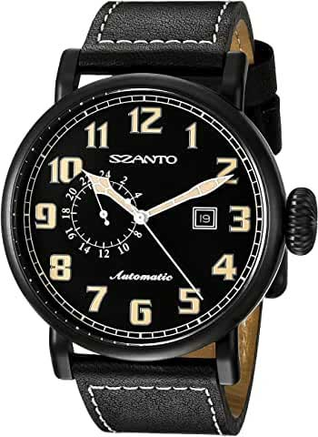 szanto watches men's aviator