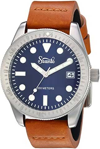 szanto watches men's vintage dial