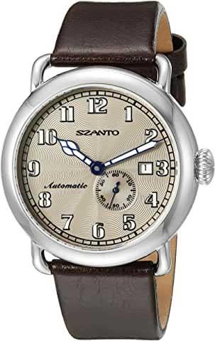 szanto watches unisex classic round