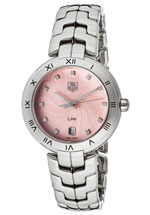 Tag Heuer watches - women's diamond pink