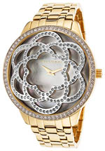 ted lapidus watches review - women's gold tone