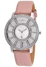 Thierry Mugler watches - pink leather