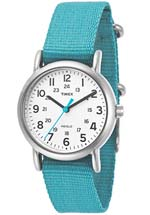 Timex watches - white dial baby blue