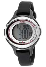 Timex watches - women's multi function black rubber
