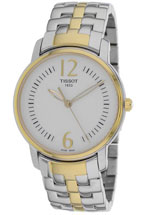 tissot watches - women's mother of pearl