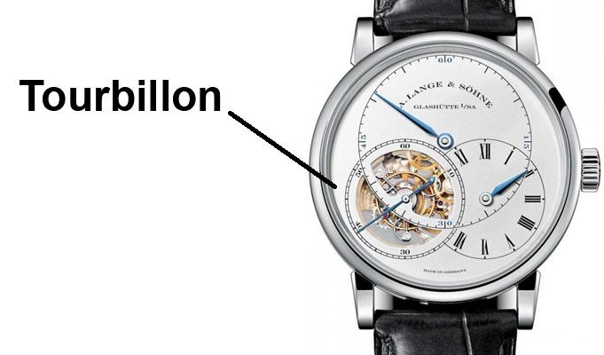 watch with tourbillon