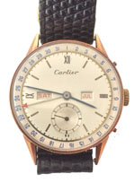 designer watches - vintage cartier