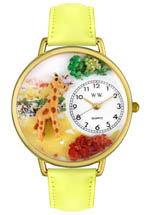 whimsical watches - giraffe
