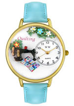 whimsical watches - quilting