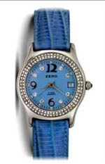 Zeno watches - designer blue